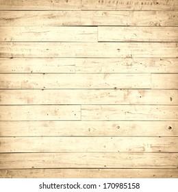 Horizontal wooden floor panel