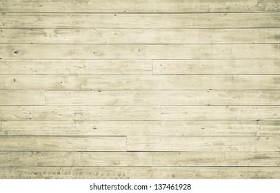 Horizontal wooden plank pattern