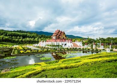 horkumluang  in  the royal flora  garden chiangmai Thailand