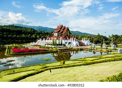 Horkumluang in the royalfloral chiangmai Thailand