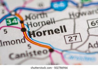 Hornell. New York (State). USA.