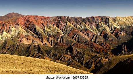 Hornocal mountain