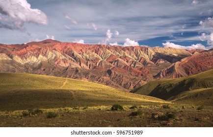 Hornocal, Mountain of fourteen colors, Humahuaca, Argentina