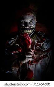 horror scary killer clown