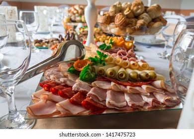 Hors d'oeuvre for wedding or holiday.
