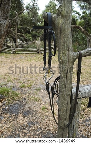 Horse Bridle Harness US Cavalry Symbol Stock Photo (Edit Now ...