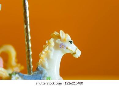 Horse carillon head
