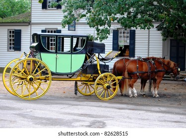 Horse Carriage in Virginia, USA