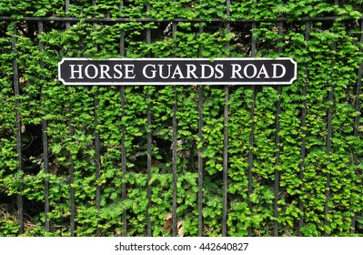Horse Guard Road sign