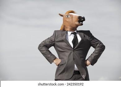 Horse Mask Suit