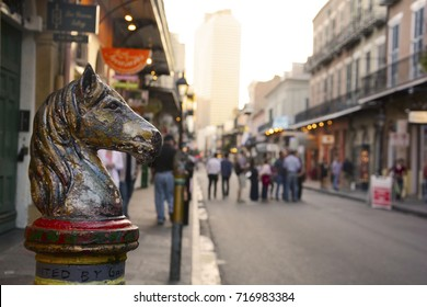 Horse Post in French Quarter