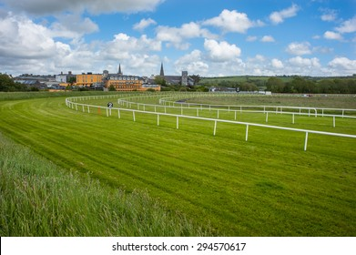 Horse racetrack in the town of Listowel in the Republic of Ireland