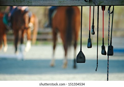 Horse riding crops