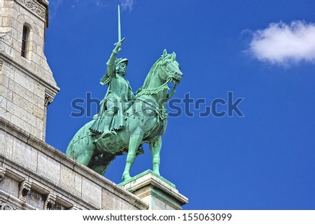 Horse statue of The