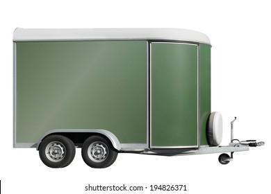 Horse transport  box trailer
