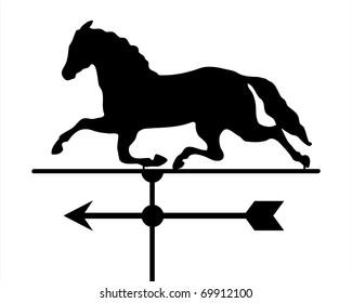 Horse Weathervane Icon