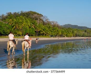 Horseback Riding in Costa Rica at Samara Beach