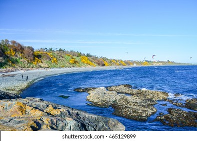 Horseshoe Bay Near the Beacon Hill Park in Victoria, B.C., Canada