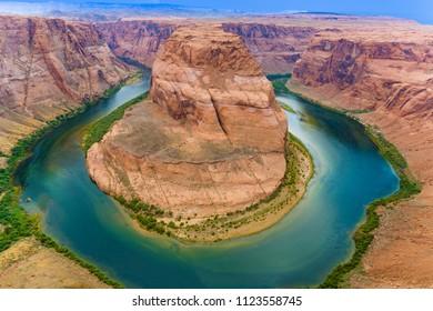 Horseshoe Bend in Colorado river, Arizona, United States