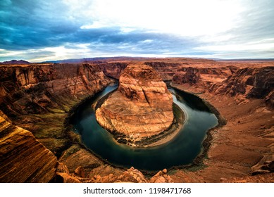 Horseshoe Bend just Northeast of the Grand Canyon