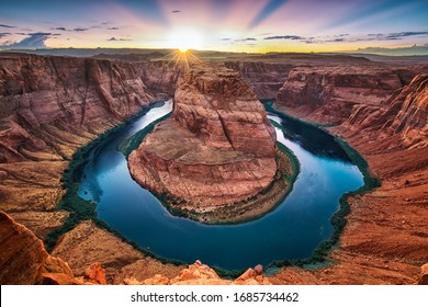 Horseshoe Bend near Page, Arizona USA
