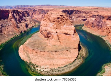 Horseshoe Bend on the Colorado River, Arizona.