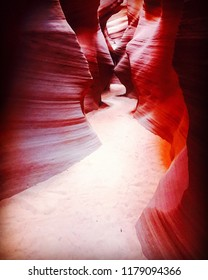 Horseshoe Bend Slot Canyon in Page, Arizona USA