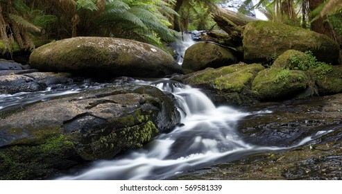 Horseshoe Falls, Mount Field National Park, Tasmania, Australia
