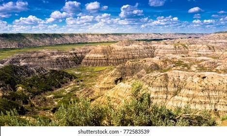 Horsethief Canyon near Drumheller, Alberta