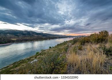 Horsetooth Reservoir in Fort Collins, Colorado