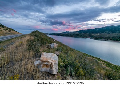 Horsetooth Reservoir Images, Stock Photos & Vectors