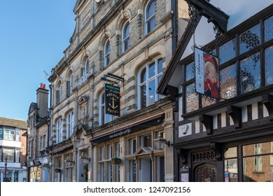 HORSHAM WEST SUSSEX/UK - NOVEMBER 30 : View of the Anchor Hotel in Horsham West Sussex on  November 30, 2018