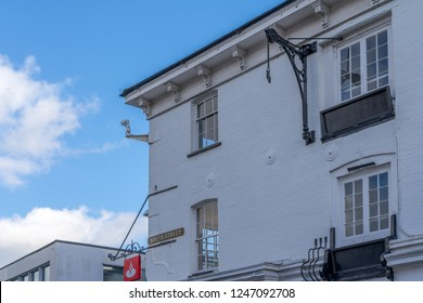 HORSHAM WEST SUSSEX/UK - NOVEMBER 30 : Historical building in Horsham West Sussex on  November 30, 2018