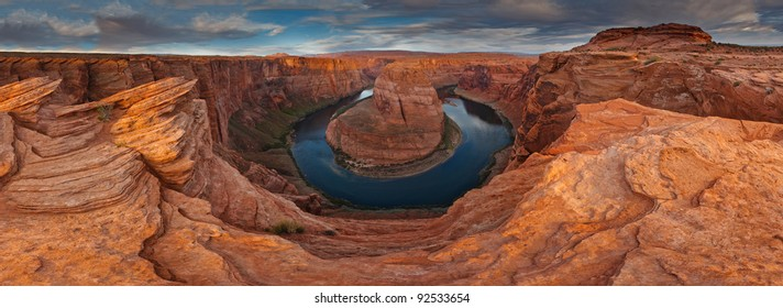 Horshoe Bend  of Colorado river near Page, Arizona