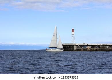 Horta Bay from the sea