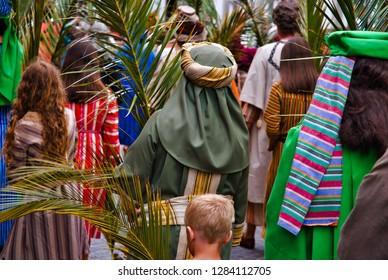 Hosanna Palm Leaves