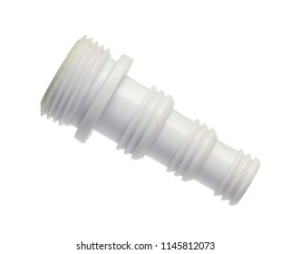 Hose connector isolated on white background