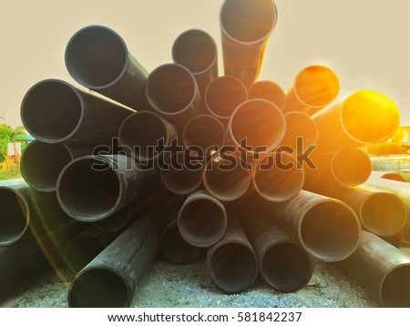 Art de pipe tube