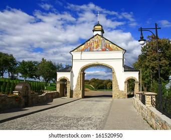 Hoshivskyy Monastery - Greek Catholic monastery in the Ivano-Frankivsk region, Ukraine.