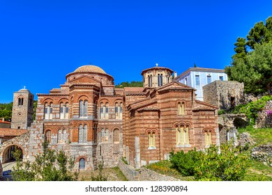 Hosios Loukas monastery,Distomo,Greece - Shutterstock ID 128390894