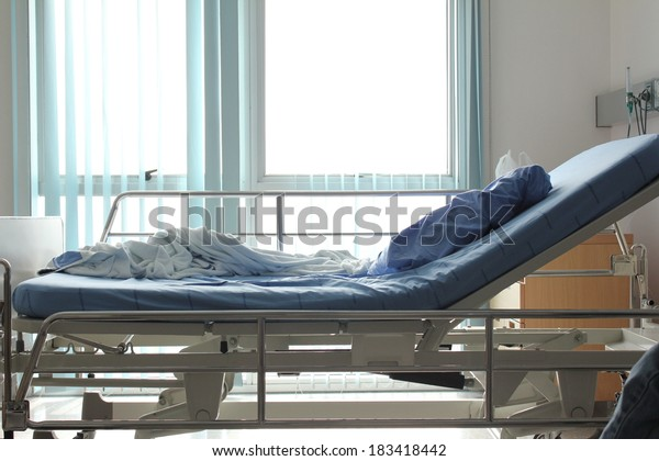 hospital bed after patient get well
