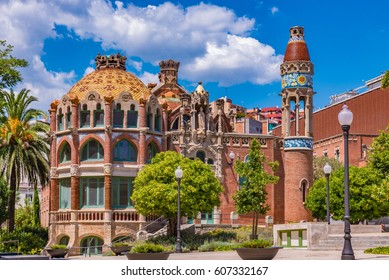 Hospital de Sant Pau in Barcelona, Spain - A UNESCO World Heritage Site
