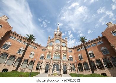 Hospital de Sant Pau, Barcelona, Spain, September 2016