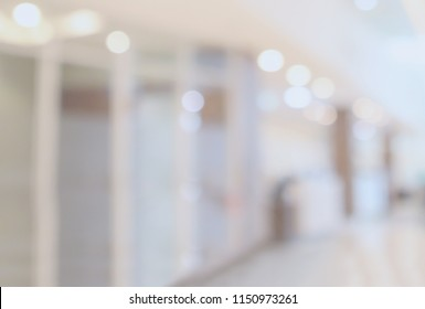 hospital luxury clinic room interior abstract blur defocused medical background with bokeh light
