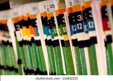 Hospital patient files