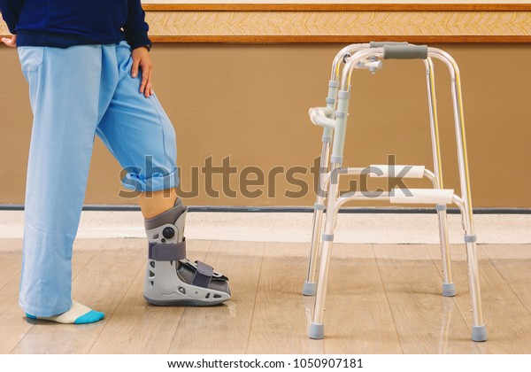 Hospital Patients Suffered Fracture Ankle Needing Stock