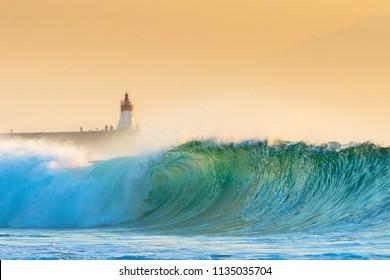 Hossegor Beach Wave