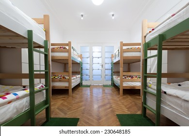 Hostel interior - bedroom