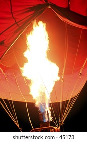 Hot Air Balloon - Burn