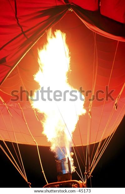 Hot Air Balloon - Burn